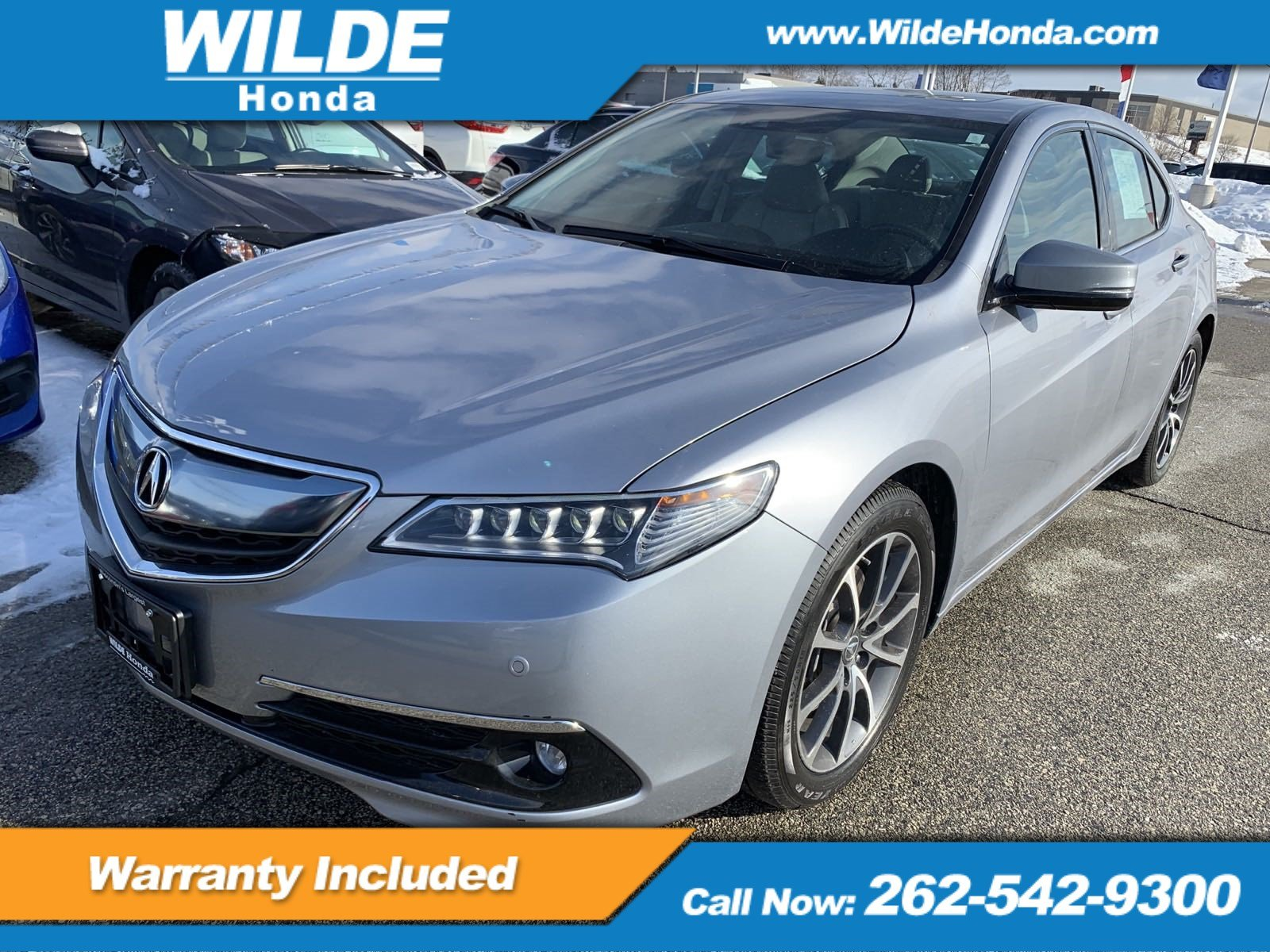 Pre Owned 2016 Acura Tlx V6 Advance 4dr Car In Waukesha 20081