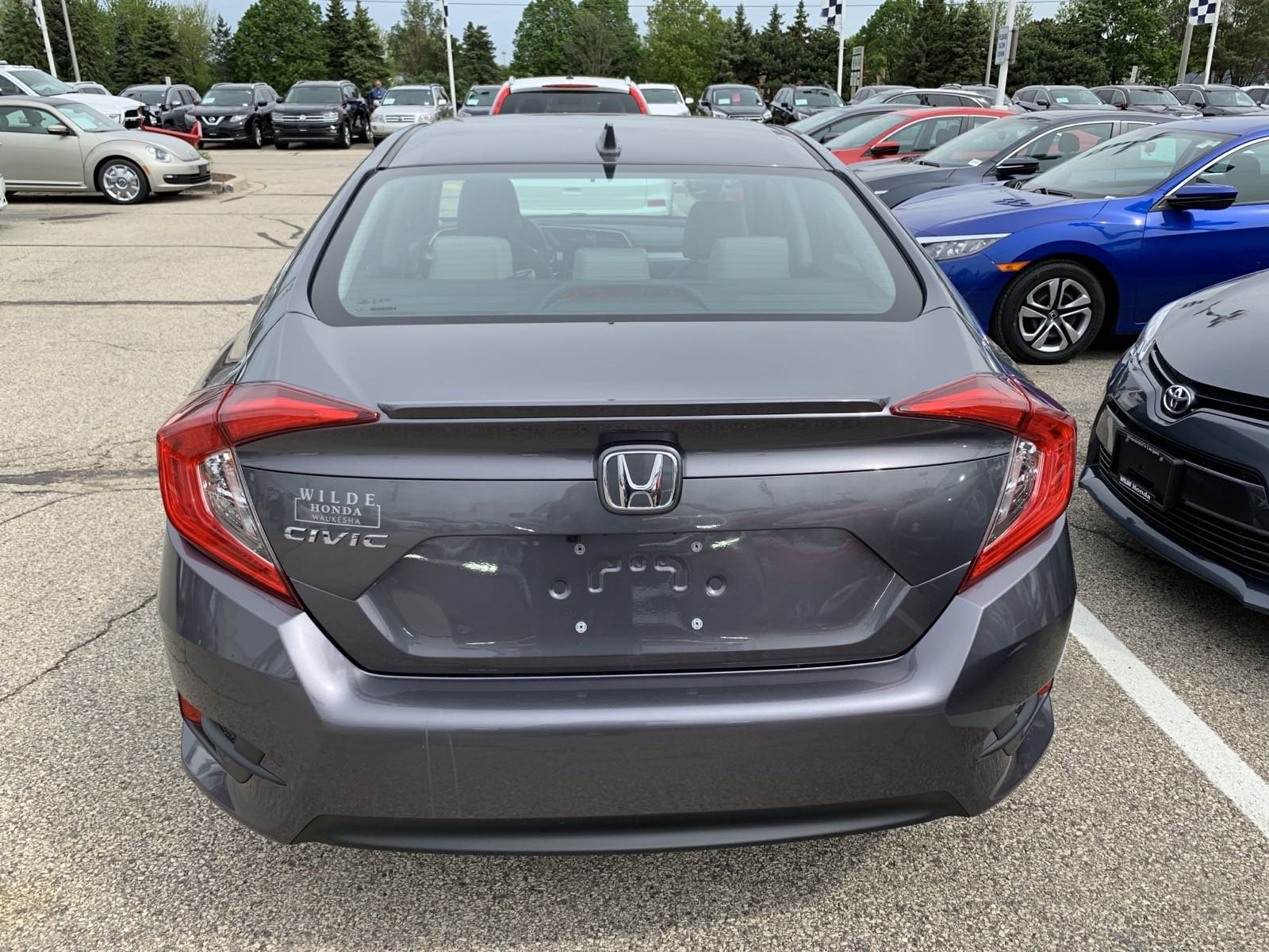 Certified Pre-Owned 2017 Honda Civic EX-T