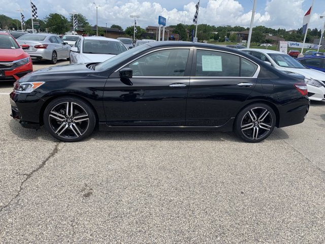Certified Pre-Owned 2017 Honda Accord Sport SE