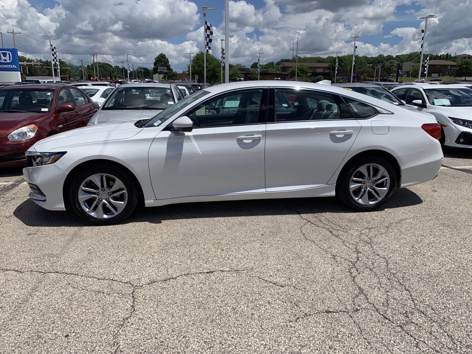 Certified Pre-Owned 2018 Honda Accord LX 1.5T