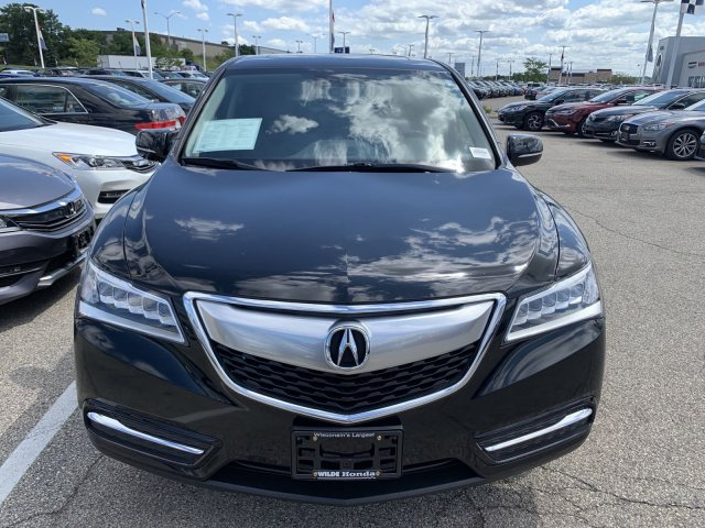 Pre-Owned 2015 Acura MDX Tech/Entertainment Pkg