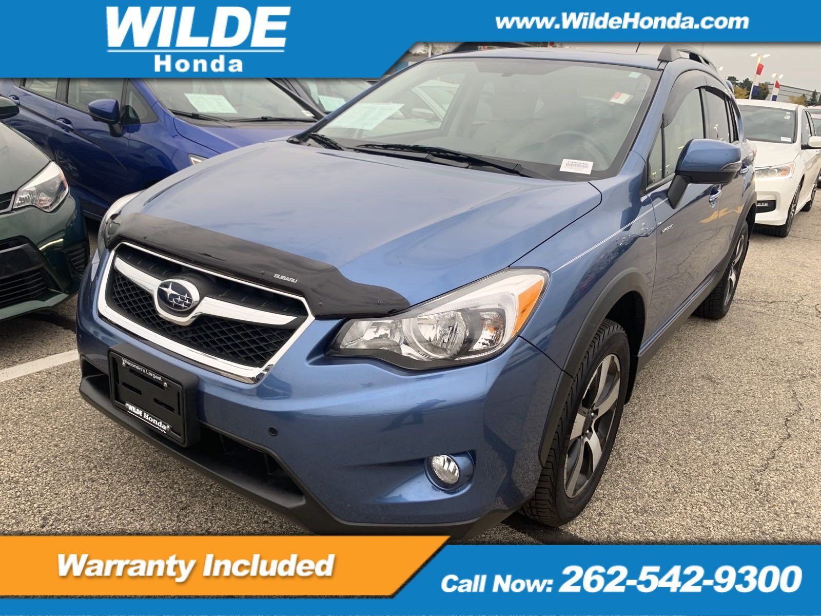 Pre-Owned 2014 Subaru XV Crosstrek Hybrid Touring